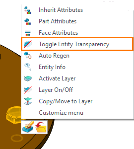 Figure 7. Toggle Entity Transparency