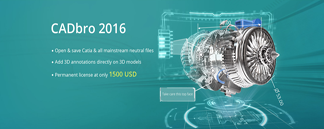 ZWSOFT Released CADbro for Periodic Users to Access, Annotate & Analyze 3D CAD data