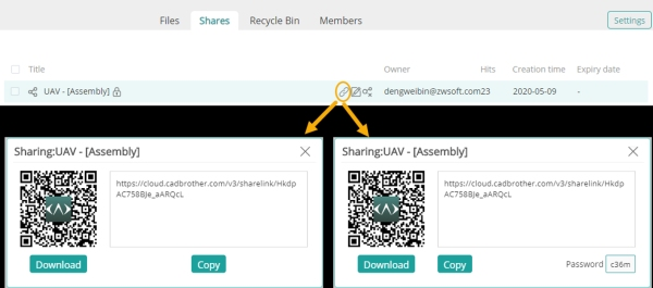 Sharing models via QR code-600x265.jpg